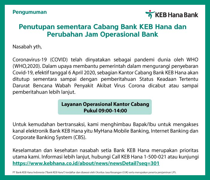 PT. Bank KEB Hana Indonesia
